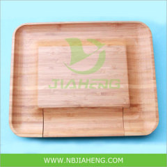 Mini Bamboo Cheese Boards with Concave surface