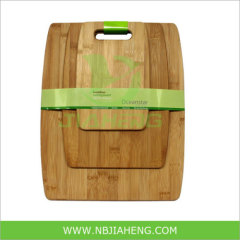 Bamboo Cheese Board with Handle 3pcs for Set