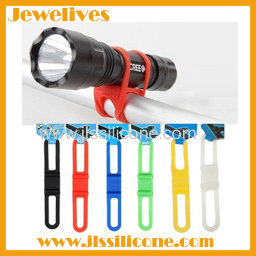 Bike Silicone Band light holder