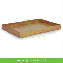 Natural 100% Solid Bamboo Tray