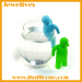 silicone tea infusers cartoon shape