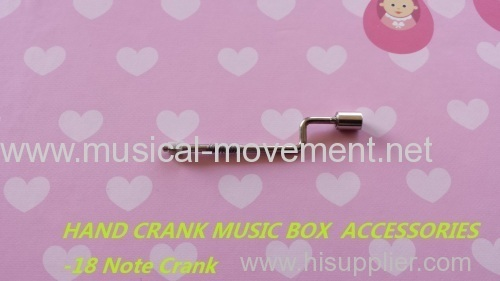 HAND CRANK MUSIC BOX PARTS CRANK HANDLE