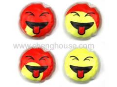 Heat Sensitive Color Changing Instant Heat Gel Pack (Smiley Face)
