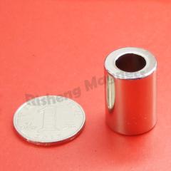 Magnet Manufacturing D18 x d10 x 25mm N40 Neodymium Magnet Strength