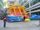 Renting Inflatable Fun City With Moonwalk Bounce For Adult And Child