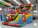 ODM Mickey Mouse Inflatable Bouncy Slide With Commercial Jumping Bouncer