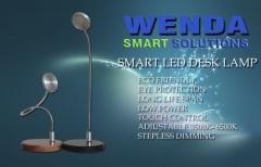 soft gooseneck Smart COB LED Table lamp