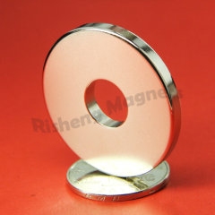 Rare Earth Permanent magnets D38 x d12 x 4mm N48 Radially Magnetized Ring Magnets