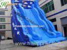 Kids Big Scream Inflatable Bouncy Slide / Durable Inflatable Bouncer Slide