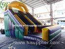 ODM Giant Commercial Inflatable Slide , jump and slide bouncer rental