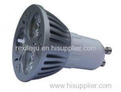 Energy Saving 3w Gu10 Led Spot Light Bulb, AC 12v Led Spot Lamps For Office, 2700-3300K