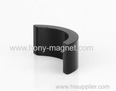 Ndfeb magnet segment for brushless DC motor
