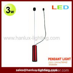 3W LED Pendant Light