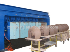 Hi pressure casting line for wash basin