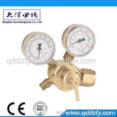 Full brass oxygen gas pressure regulator