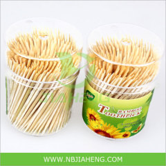 Disposable Natural Bamboo Toothpicks with Double Points
