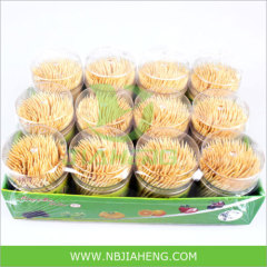 New Design Bamboo Toothpick with Show Box