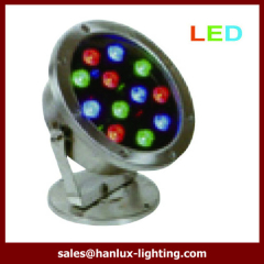 12w IP68 high power led underwater