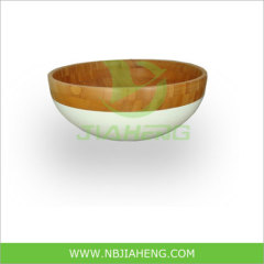 Outdoor Camping Spun Bamboo Bowl