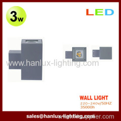3W CE RoHS LED Wall Lights