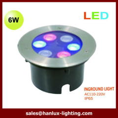 6W high power led underground light