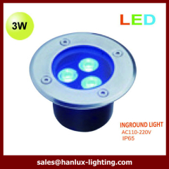 IP65 3w high power led underground light
