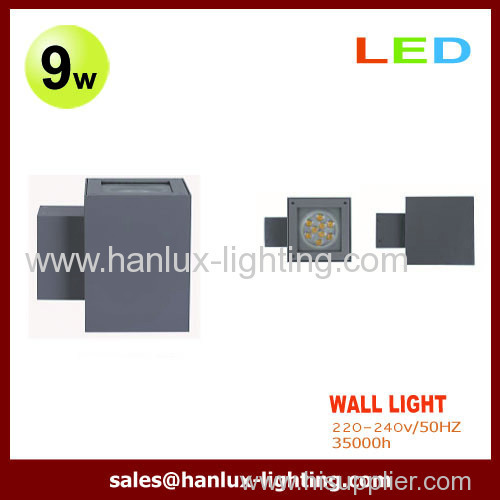 9W 630LM LED Wall Lights