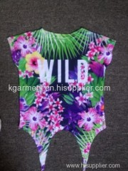 Branded Ladies all over print Clothing