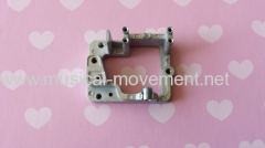 Crank Operated Music Box Mechanism Accessories Alloy Base