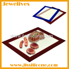 Food safe silicone bbq grill mat