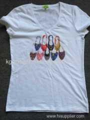 Ladies cotton Fashion Vest and T-shirt