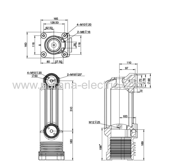 12kv  1600  40ka medium voltage vacuum interrupters embedded
