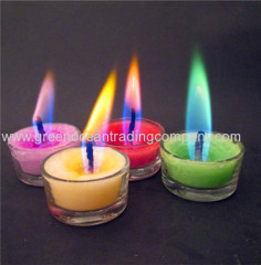 Color flame candle - 2