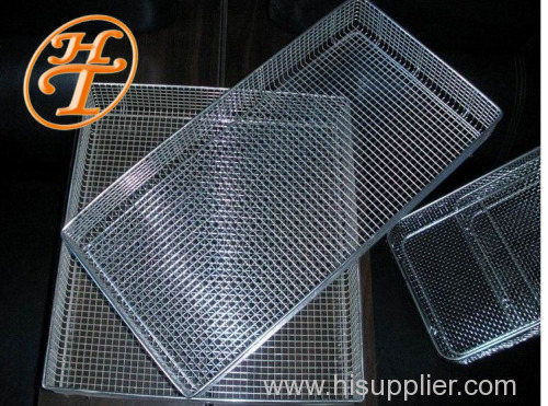 Stainless wire mesh baskets for Bakery