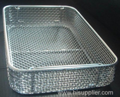 Rust free stainless steel wire basket box