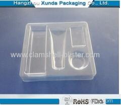 Plastic tray blister tray