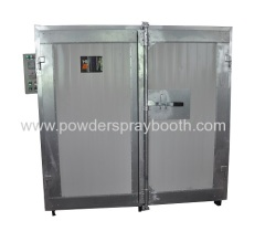 batch Curing Oven of Powder Coating