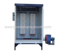 portable powder coat spray booth