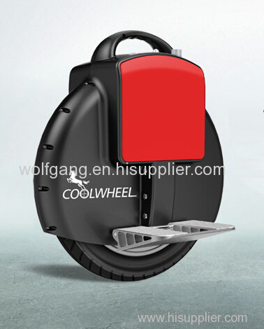 Self balance one wheel electric unicycle seat scooter