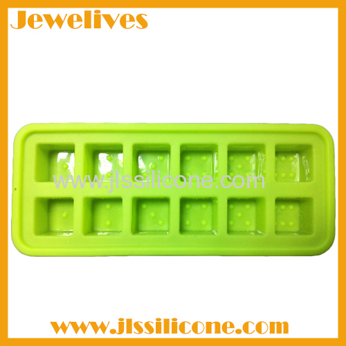 Hot sale silicone dice shape ice cube tray