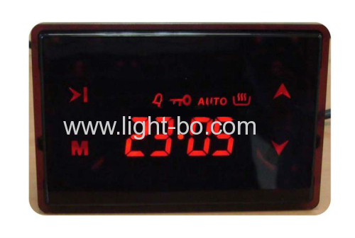 Custom Red 7 Segment LED Display 4 Digit for Oven Timer