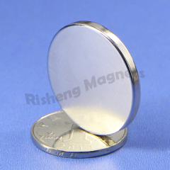 N42 neodymium magnet strength magnetic disc D30 x 3mm large magnets for sale