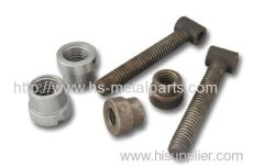 Precision Construction Castings fittings and nuts