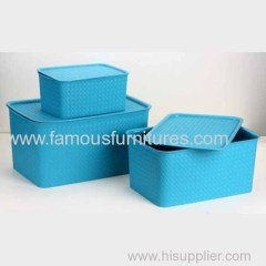 plastic household storage box