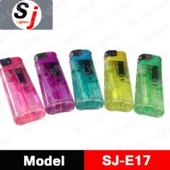 Transparent plastic lighter gas lighter