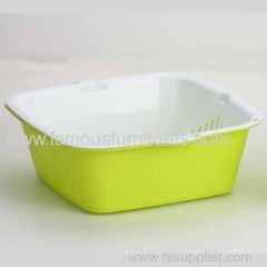 Kitchen plastic drop basket