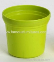 plastic PP flower pot for desk use