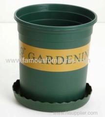 gallon plastic flower pot