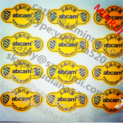 import water based glue permanent vinyl stickers