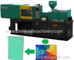 Color plate making injection molding machine